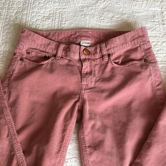 c230c26e9e8e J. Crew Jeans | J Crew Pink City Fit Skinny Leg Matchstick Cords ...